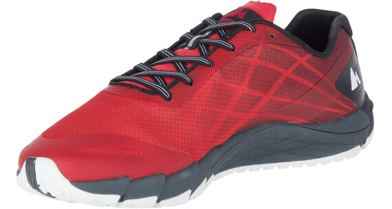 Merrell M's Bare Access Flex Shoes High Risk Red